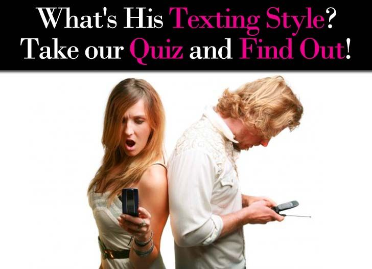 your dating style quiz Questions answer these easy questions, and this quiz can help you figure out what your dating style is fun this test is not based on any scientific study whatsoever.